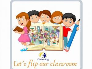 Let's Flip Our Classroom Etwinning Project Logo